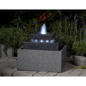 "19.7"" Square Shpae Fountain with LED Light"