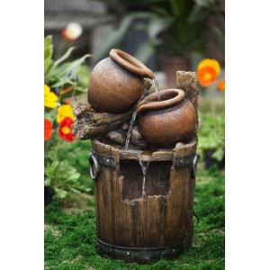 "25.2"" Pot and Urn Water Fountain"