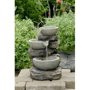 "12.2"" Tabletop Muti Bowls Fountain"