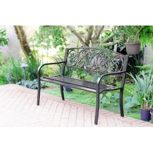 "50"" Royal Curved Back Park Bench"