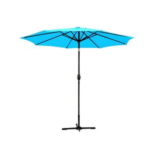 9ft. Aluminum Patio Market Round Umbrella