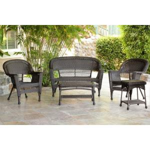 51 Inch 5 Piece Conversation Set without Cushion