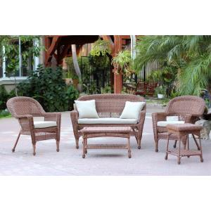 "51"" 5 Piece Conversation Set with Cushion"