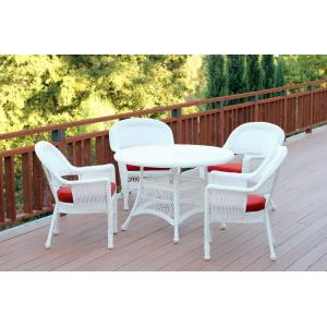 44.5 Inch 5 Piece Dining Set with Cusion