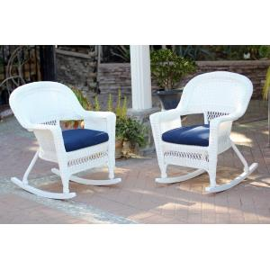 "36"" Rocker Chair with Cushion (Set of 2)"