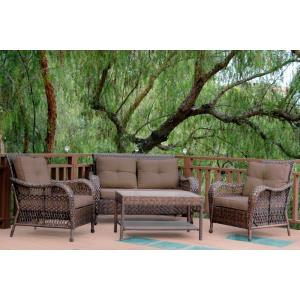"61"" 4 Piece Cromwell Conversation Set with Cushion"