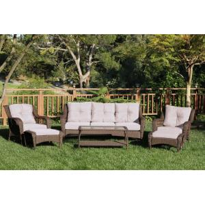 76.5 Inch 6 Piece Seating Set with Cushion