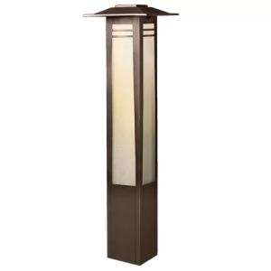 Zen Garden - Low Voltage 1 light Path and Spread Light - 26 inches tall by 7 inches wide