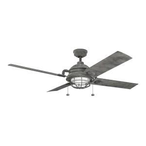 Maor - 65 Inch Ceiling Fan with Light Kit