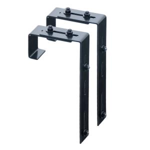 "Mayne - 9.75"" Adjustable Deck Rail Bracket (Pack of 2)"