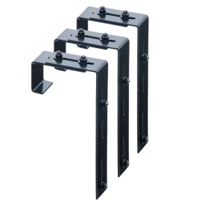 "Mayne - 9.75"" Adjustable Deck Rail Bracket (Pack of 3)"