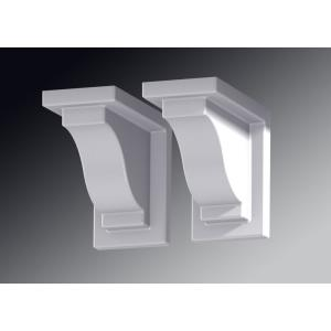"Yorkshire - 8"" Decorative Bracket (Pack of 2)"