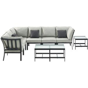 "Brooklyn - 29.5"" 9-piece Modular Sectional Set"