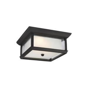 "McHenry - 13"" 28W 2 LED Outdoor Flush Mount"
