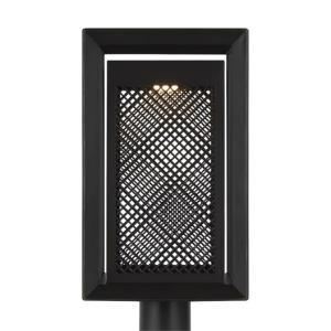 Milton - 18.75 Inch 14W 1 LED Outdoor Post Lantern