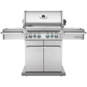 Prestige PRO 500 Gas Grill with Infrared Rear and Side Burners