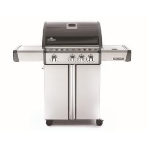 Triumph 410 Gas Grill with Side Burner