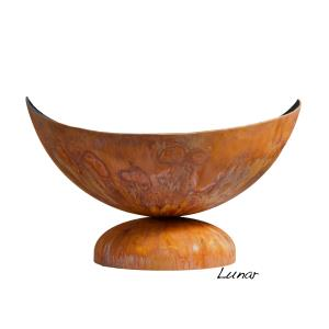 "30"" to 41"" Lunar Artisan Fire Bowl - Patina Finish"