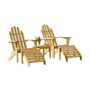 Adirondack - 38 Inch 5-Piece Chat Set