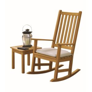 Franklin - 44 Inch 2-Piece End Table and Rocking Chair Chat Set