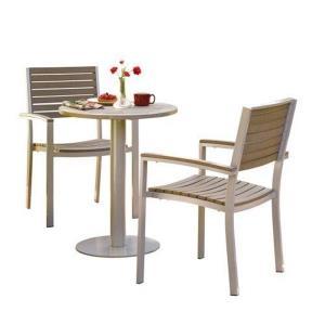 Travira - 29 Inch 5-Piece Round Table and Chair Bistro Set