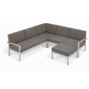 Travira - 61.5 Inch 4-Piece Modular Seat Chat Set