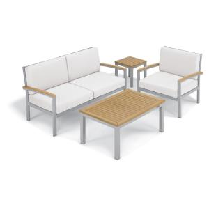 Travira - 4-Piece Seat and Table Chat Set