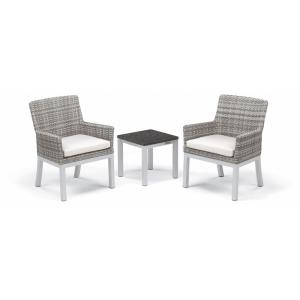 Argento and Travira - Travira - 3-Piece Armchair and End Table Conversation Set