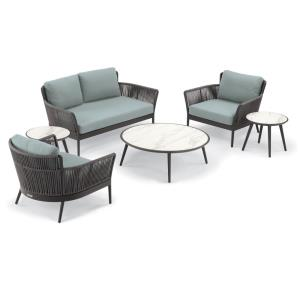 Nette - 4-Piece Loveseat and Tables Set