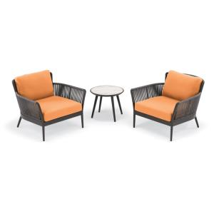 Nette - 3-Piece Club Chair and Table Set
