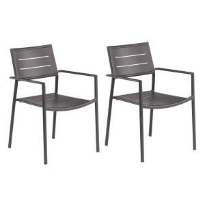 Eiland - Carbon Aluminum Armchair
