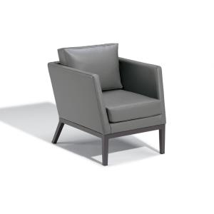 Salino -  Nauticau Club Chair and Optional Ottoman Pouf