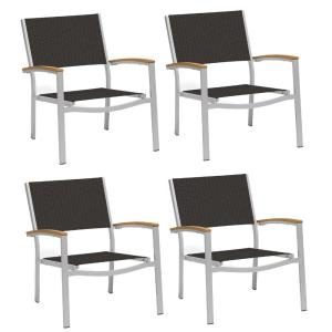 Travira - Chat Chair with Sling (Set of 4)
