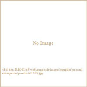 6 ft Pink Tropical Palapa Patio Umbrella