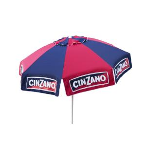Cinzano - 8' Deluxe Beach and Patio Umbrella with Storage Bag