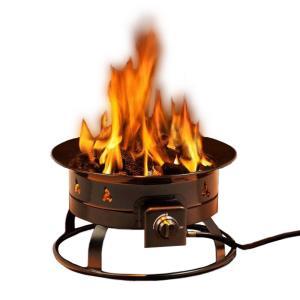 "Heininger - 19"" Propane Outdoor Fire Pit"