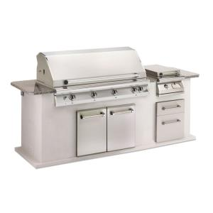 "Legacy - 51"" Big Sur Gourmet Stainless Steel Grill Head with Infrared Rotisserie Burner"