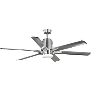Arlo - 60 Inch Wide - Ceiling Fan - 1 Light - Handheld Remote - Damp Rated
