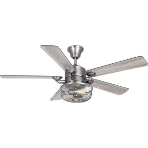 Greer - Wide - Ceiling Fan - 2 Light - Handheld Remote in Transitional style - 54 Inches wide by 21.88 Inches high