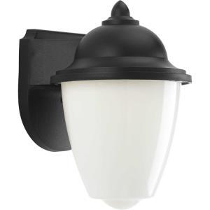 Non-Metallic - 8.69 Inch 40W 4 LED Outdoor Wall Lantern