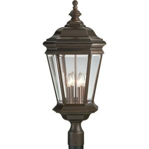 Crawford - 28.375 Inch Height - Outdoor Light - 4 Light - Line Voltage - Wet Rated