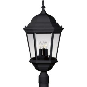 Welbourne - 25.875 Inch Height - Outdoor Light - 3 Light - Line Voltage - Wet Rated
