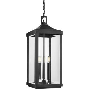 Gibbes Street - 23.75 Inch Height - Outdoor Light - 3 Light - Line Voltage - Damp Rated