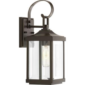 Gibbes Street - Outdoor Light - 1 Light in New Traditional and Transitional style - 5.5 Inches wide by 15.13 Inches high