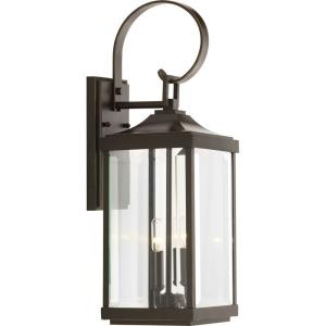 Gibbes Street - Outdoor Light - 2 Light in New Traditional and Transitional style - 7 Inches wide by 21.75 Inches high