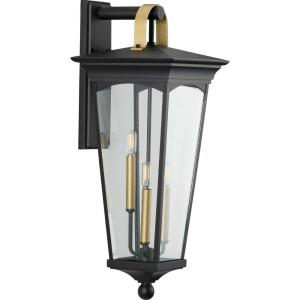 Chatsworth - Outdoor Light - 3 Light in New Traditional and Transitional style - 11 Inches wide by 28 Inches high