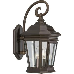 Crawford - 16.75 Inch Height - Outdoor Light - 2 Light - Line Voltage - Wet Rated
