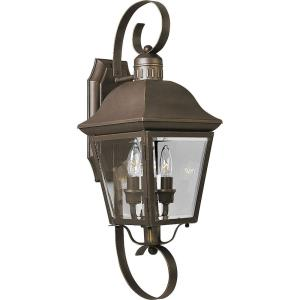 Andover - 21.25 Inch Height - Outdoor Light - 2 Light - Line Voltage - Wet Rated