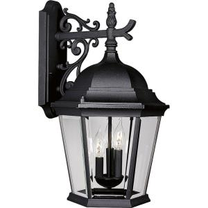 Welbourne - Outdoor Light - 3 Light in Traditional style - 12.63 Inches wide by 22.19 Inches high