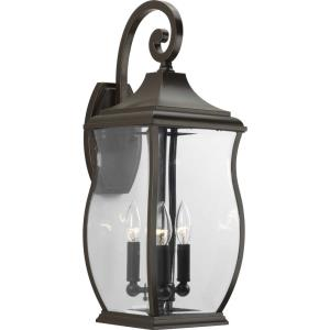 Township - 22 Inch Height - Outdoor Light - 3 Light - Line Voltage - Wet Rated
